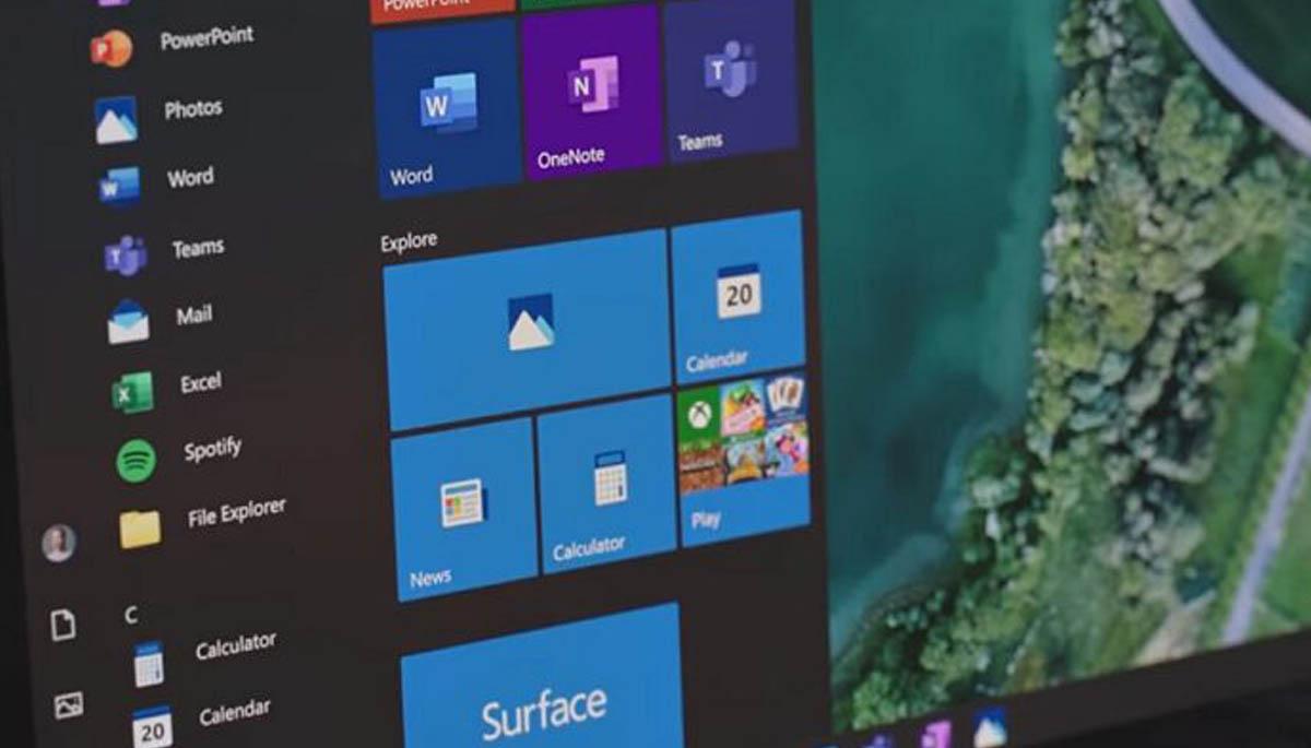 Windows 10 start button not working